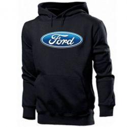 Мужская толстовка Ford 3D Logo - PrintSalon