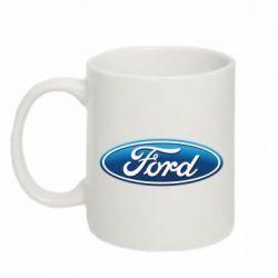 Кружка 320ml Ford 3D Logo - PrintSalon