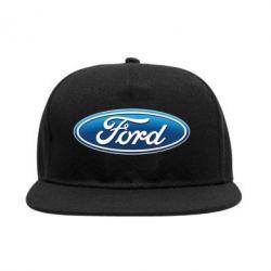 Снепбек Ford 3D Logo - PrintSalon