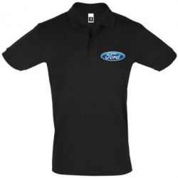 Футболка Поло Ford 3D Logo - PrintSalon