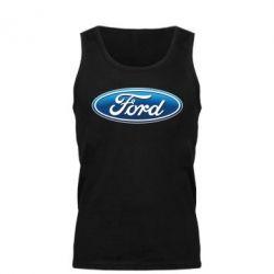 Мужская майка Ford 3D Logo - PrintSalon