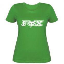 Женская футболка Fox Moto - PrintSalon