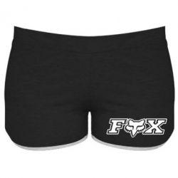 Женские шорты Fox Moto - PrintSalon