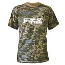 Камуфляжная футболка Fox Moto - PrintSalon