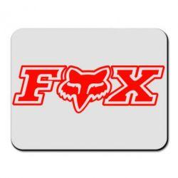 Коврик для мыши Fox Moto - PrintSalon