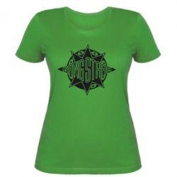 Женская футболка Gang Starr