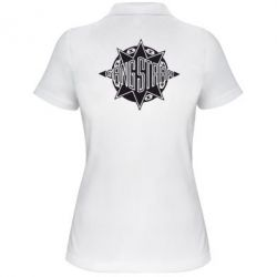 Женская футболка поло Gang Starr