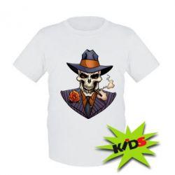Детская футболка Gangsta Skull
