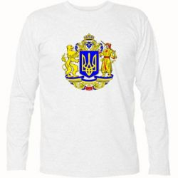 Футболки з довгим рукавом на тему  Герб України - купити або ... f84c4ab3f78d8