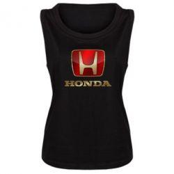 Женская майка Gold Honda - PrintSalon