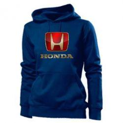 Женская толстовка Gold Honda - PrintSalon