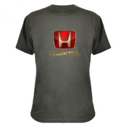 Камуфляжная футболка Gold Honda - PrintSalon