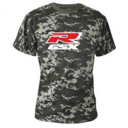 Камуфляжная футболка GSX R