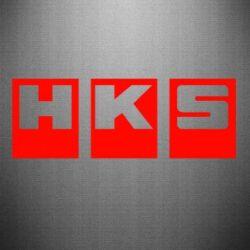 Наклейка HKS