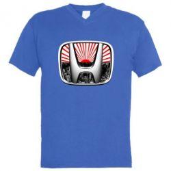 Мужская футболка  с V-образным вырезом Honda JDM