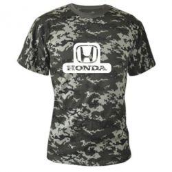 Камуфляжная футболка Honda Stik