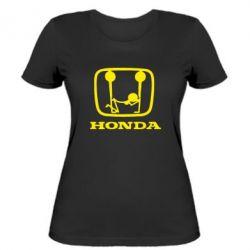 Женская Honda - PrintSalon