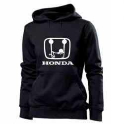 Женская толстовка Honda - PrintSalon