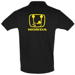 Футболка Поло Honda - PrintSalon