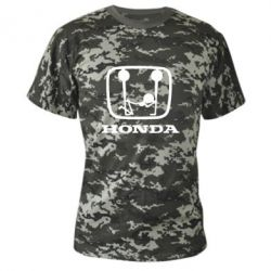 Камуфляжная футболка Honda - PrintSalon
