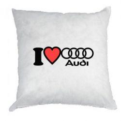 Подушка I love audi