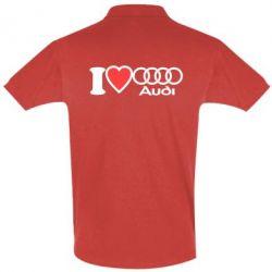 Футболка Поло I love audi
