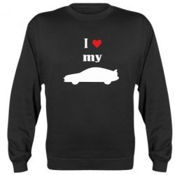 Реглан I love my car - PrintSalon