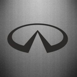 Наклейка Infiniti logo