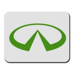 Коврик для мыши Infiniti logo