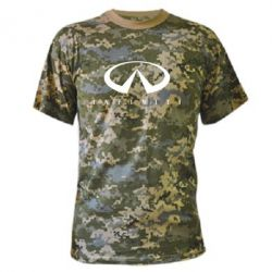Камуфляжная футболка Infiniti