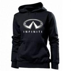 Женская толстовка Infinity Logo 3D