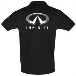 Футболка Поло Infinity Logo 3D