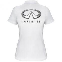 Женская футболка поло Infinity Logo 3D