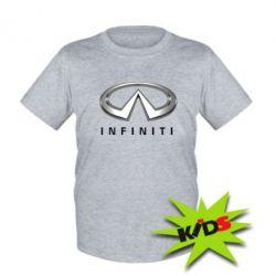 Детская футболка Infinity Logo 3D