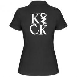 Женская футболка поло Invincible tricking - PrintSalon