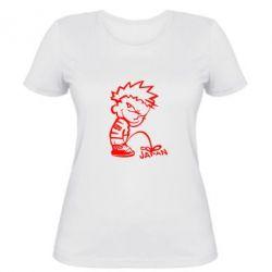 Жіноча футболка JAPAN - PrintSalon