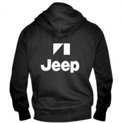 Мужская толстовка на молнии Jeep Logo