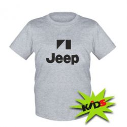 Детская футболка Jeep Logo