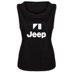 Женская майка Jeep Logo