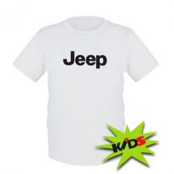 Детская футболка Jeep