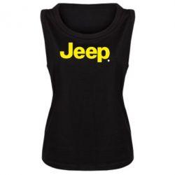 Женская майка Jeep