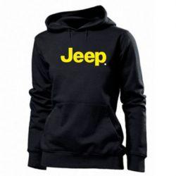 Женская толстовка Jeep