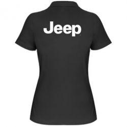 Женская футболка поло Jeep