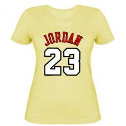Женская футболка Jordan 23 - купить в Киеве, Харькове, Запорожье ... 9caf829dbfe