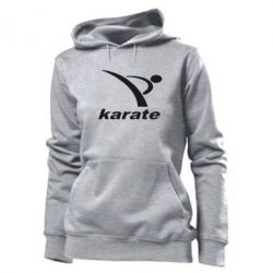 Женская толстовка Karate