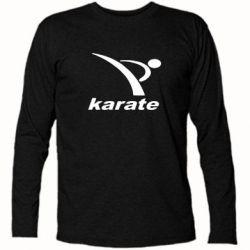 Футболка с длинным рукавом Karate