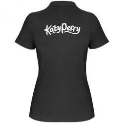Женская футболка поло Katy Perry