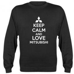 Реглан Keep calm an love mitsubishi