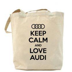 Сумка Keep Calm and Love Audi