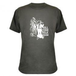 Камуфляжная футболка Kill your television